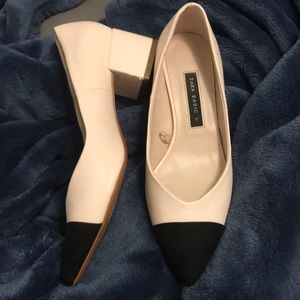 Zara mid heel pumps